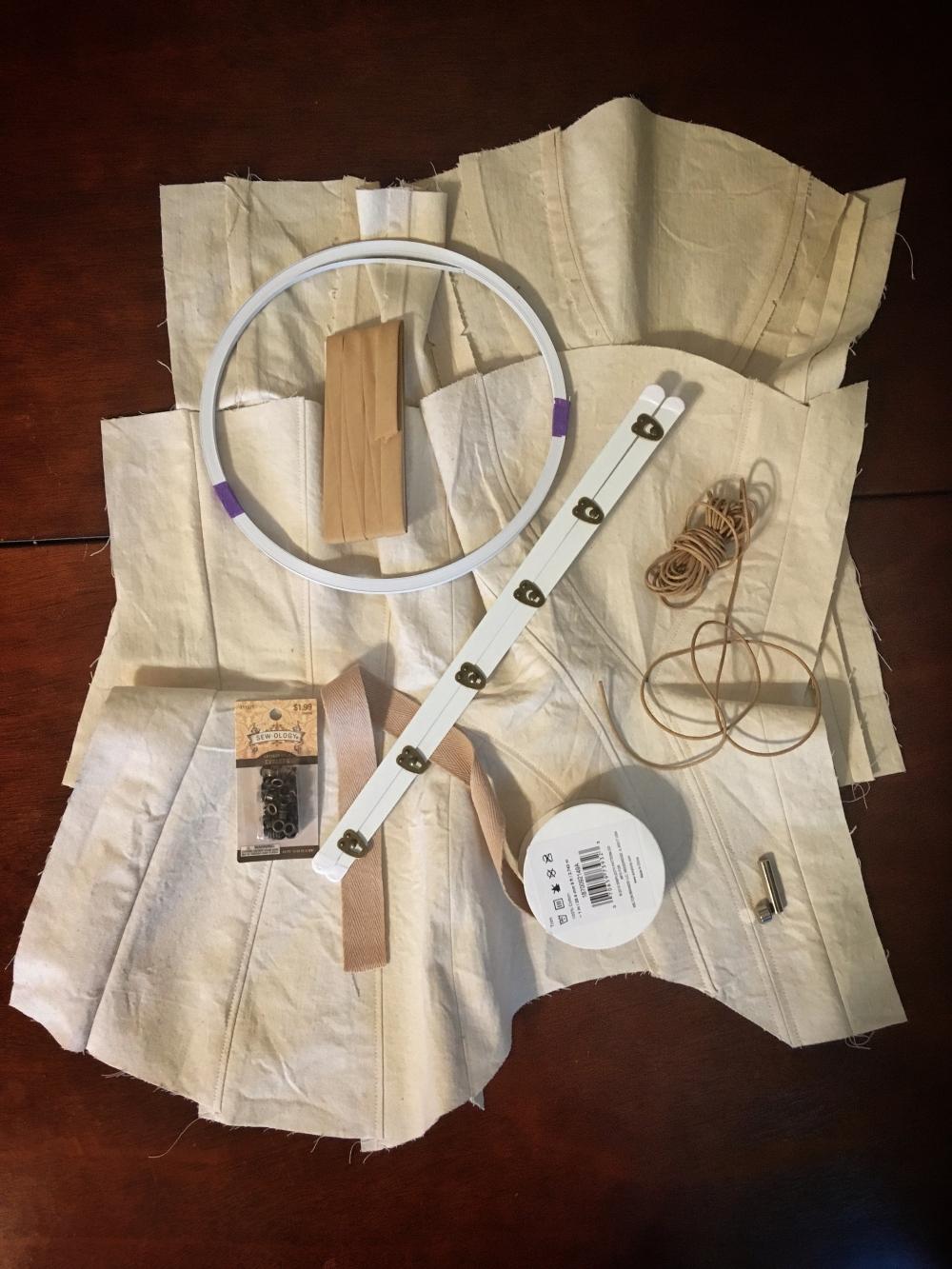 1903 corset hardware
